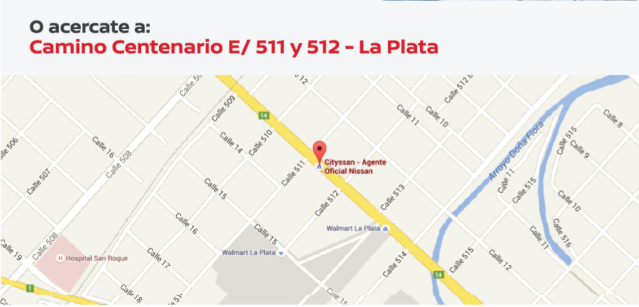 Camino Centenario e/ 511 y 512