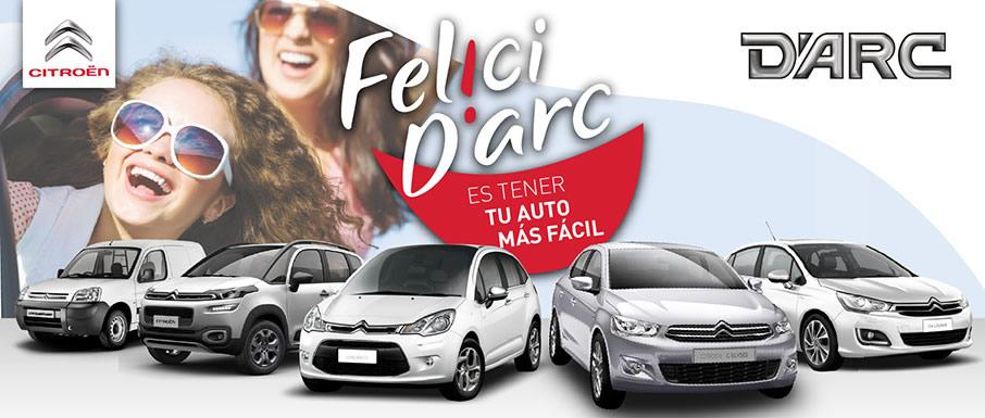 Darc Citroen - Felicidarc es tener tu auto en cuotas